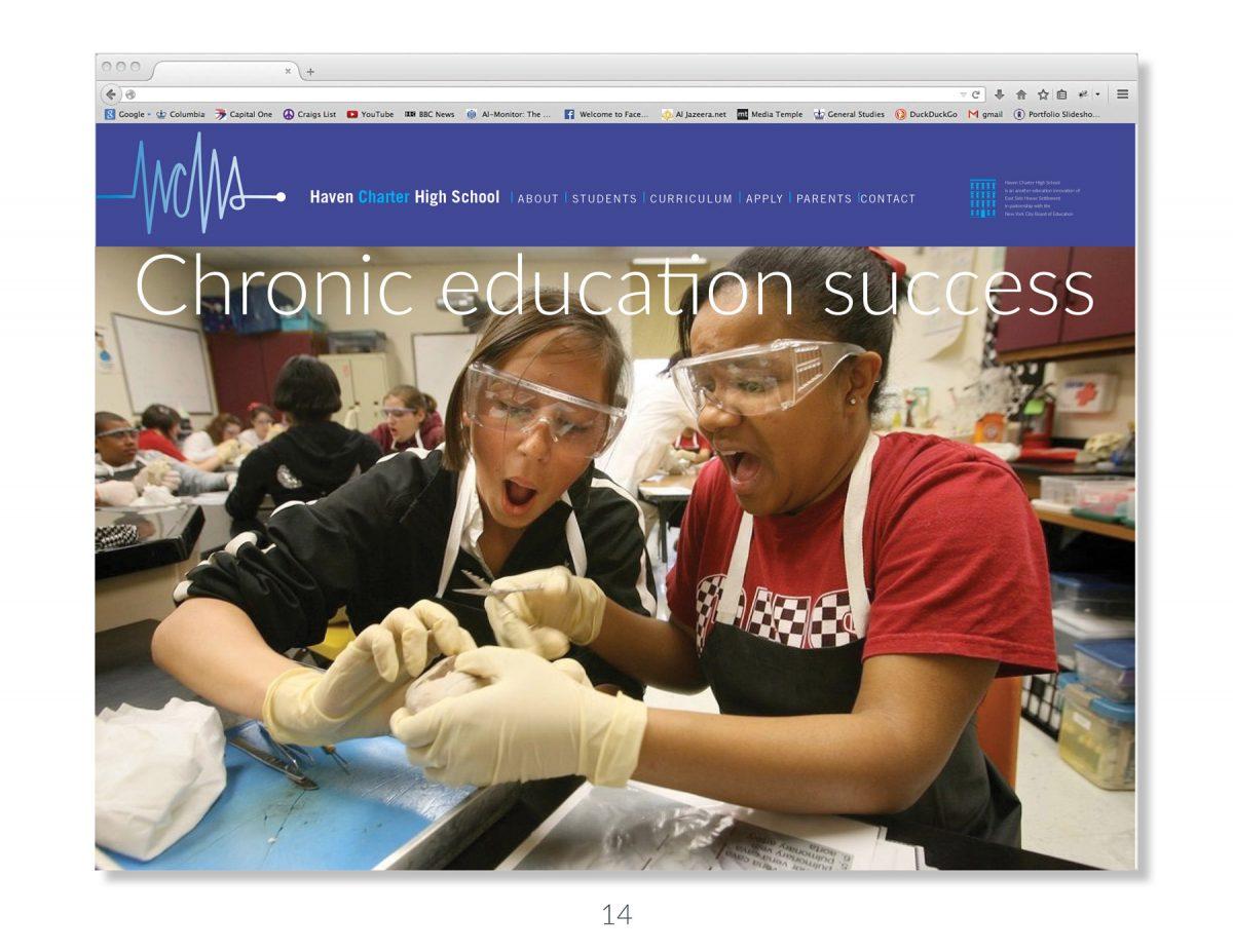 Haven Charter High School: Branding a Healthcare Charter School