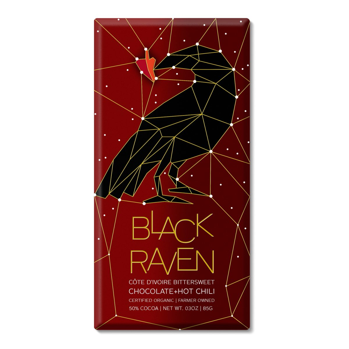 Black Raven Chocolate: Branding Referencing the Constellations